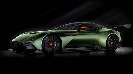 Aston Martin launches luxury carbon fiber supercar