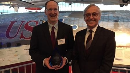 Composite Recycling Technology Center wins sustainability award
