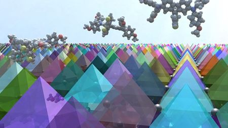New material gets perovskite solar cells out of a hole