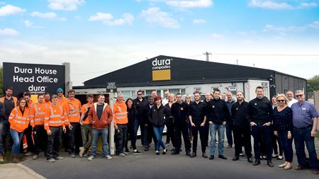 Dura Composites wins Queen's Award for Enterprise