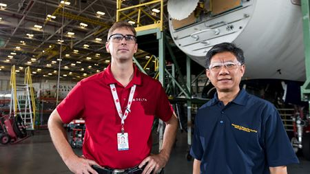 Georgia Tech and Delta Air Lines work on composite repair