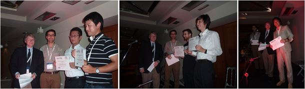 The award winners at the International Conference on Diamond and Carbon Materials 2014.