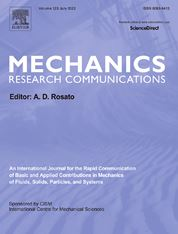 Mechanics Research Communications