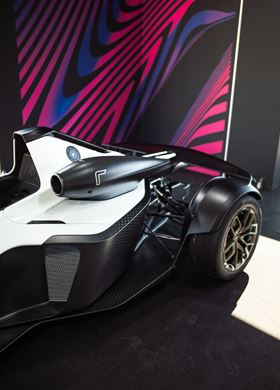 The Briggs Automotive Company (BAC) Mono R supercar.