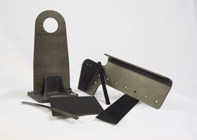 Using thermoplastic to make a composite part could reduce manufacturing time.