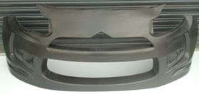 The largest composite body panel is the 1.75 square metre front bumper, which weighs 2.17 kg.