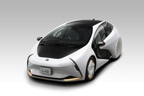 Toyota selected Covestro as its partner to develop a lightweight polyurethane composite material for its LQ car.