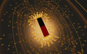 A team of researchers has observed a rare phenomenon called re-entrant superconductivity in the material uranium ditelluride. Nicknamed 'Lazarus superconductivity', the phenomenon occurs when a superconducting state arises, breaks down and then re-emerges in a material due to a change in a specific parameter – in this case, the application of a very strong magnetic field. Image: Emily Edwards/JQI.