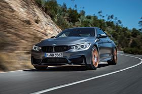 The award is for the BMW M4 GTS Hood made using Solvay's materials and processes.