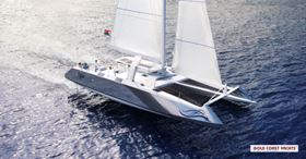 Gold Coast Yachts' B53 catamaran.