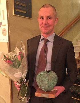 Olof Faxander has been presented with the 'CEO driving Diversity' award by a Swedish management magazine.