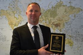 T he award is in recognition of Freeman's time and effort in developing ASTM Standard Designation D7891.