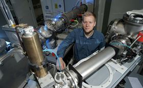 Physicist Jura Rensberg from the Friedrich Schiller University Jena was part of the research team that developed a way to engineer the transition point for vanadium dioxide.