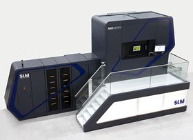 The NXG XII 600 is equipped with 12 lasers with 1 KW each, and a square build envelope of 600x600x600 mm.