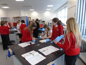 Renishaw opens stem education center materials today for Waste material items useful