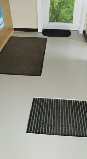 Floor coating In-Door application, ABP Office Hamburg, Germany