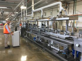 The CSIRO/ Deakin wet spinning line was custom built by an Italian company with input from the organizations' researchers.
