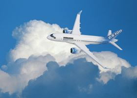 So far, Bombardier has 133 firm orders for its CSeries aircraft, which are optimised for the 100- to 149-seat market.