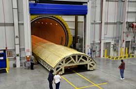 Spirit AeroSystems says that some of the worlds largest autoclaves to support the companys composite fuselage business.