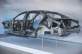 The carbon fiber material for the BMW 7's hybrid roof frame construction comes from SGL Group.