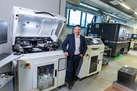Eric Bader, managing director of ExOne GmbH. (Photo courtesy Business Wire.)