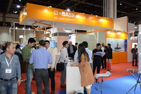 BASF at the Shanghai show.