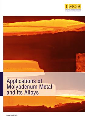 The International Molybdenum Association (IMOA) has published an updated version of the brochure Application of Molybdenum Metal and its Alloys.