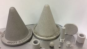 Mott's 3D technology makes it possible to make custom sintered metal filtration and flow control products.