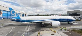 Top story last week: Boeing's first 787-9, the second model in the Dreamliner family.