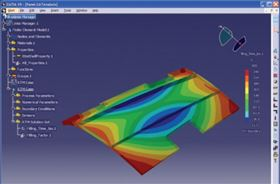 Mould design and process parameters are 3D simulated by ESI Group's PAM-RTM to avoid filling problems.