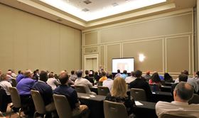 Attendees can choose from a wide variety of presentation tracks.