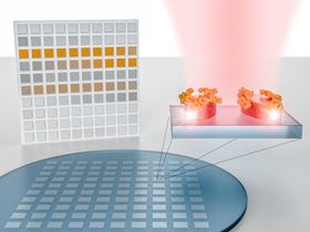 Specially designed dielectric resonators amplify and detect the characteristic molecular absorption fingerprint of materials on their surface. When incorporated into a pixelated metasurface, they can generate a distinct bar code for each molecular analyte, enabling imaging-based and chemically specific detection without the need for conventional spectrometry.