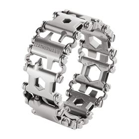 Leatherman has developed a multi-tool that can be worn on the wrist made with MIM links.