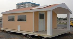 A standard house can be constructed using prefabricated InnoVida load-bearing, insulated FCP panels in 1-3 days.