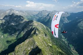 Entering athletes will use the company's Skytex 27 paragliding fabrics. (Photo courtesy Felix Wölk.)