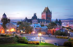 The college center is located in Quebec, Canada.