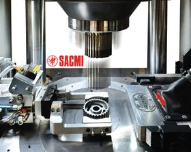 The MPH800 is a new addition to Sacmi's range of CNC hydraulic presses for the powder metal industry.