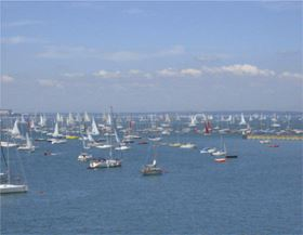 The Isle of Wight, especially Cowes, is a mecca for sailing and a centre for composite boat building. 'Lifestyle' is listed as one of the inducements for businesses thinking of relocating to the island.
