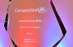 The award is intended to celebrate new businesses in the composites supply chain.