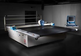 Lectra's Vector TechTex FX 100 cutting solution for industrial fabrics and composite materials.
