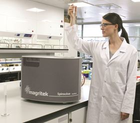 Magritek announce Spinsolve Carbon, the world's first Carbon-13 capable benchtop NMR spectroscopy system