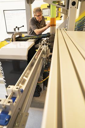 The machines can produce woven net shapes, billets and para beams for composite applications.
