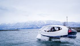 The entry covers the application of InfuGreen 810 bio resin in the production of the SeaBubbles water taxis prototypes.