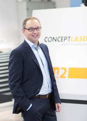 Concept Laser's president & CEO Frank Herzog predicts growth in 2015.