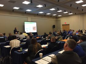 Attendees get the most current powder coating information from industry professionals.