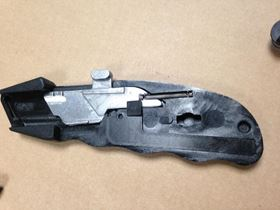 The knife manufacturer was looking into ways to make an alloyed blade carrier for the ReAkta Knife.