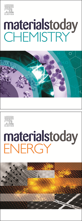 Materials Today Chemistry and Materials Today Energy are the two latest journals to be launched.