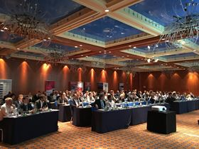 Participants of the 13th World Pultrusion Conference which took place in March. Photo courtesy EPTA/AVK.