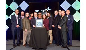 GKN Aerospace has received a supplier award from Spirit AeroSystems.