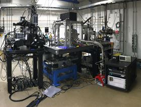 Ultrafast X-ray imaging system installed at the Dynamic Compression Sector, Argonne National Laboratory.